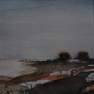 Två träd i horisonten
