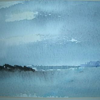 Blå horisont        Såld/Sold